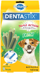 DENTASTIX™ Triple Action Freshbites Small And Medium